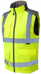 Leo Torrington Bodywarmer Yellow