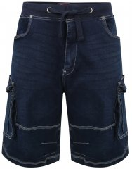 Kam Jeans Dito Denim Shorts Mid Used Blue