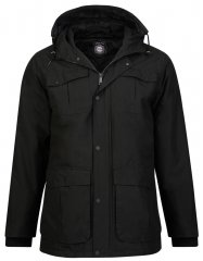 Kam Jeans KV81 Padded Jacket Black