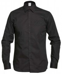 D555 Michael Couture Stretch Shirt Black