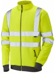 Leo Libbaton Track Top Hi-Vis Yellow
