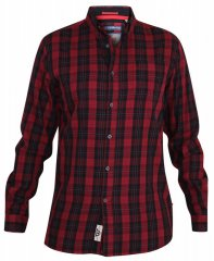 D555 Theo Long Sleeve Check Shirt