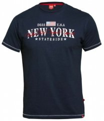 D555 Thornton Embroidery T-shirt Navy