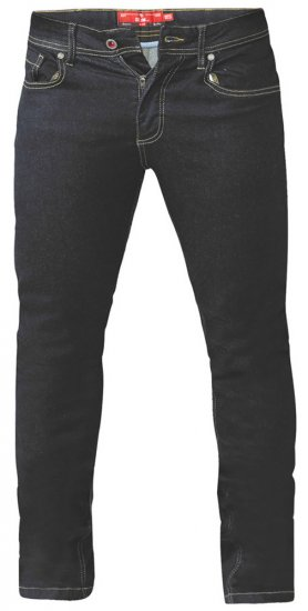 D555 Cedric Tapered Fit Stretch Jeans Indigo