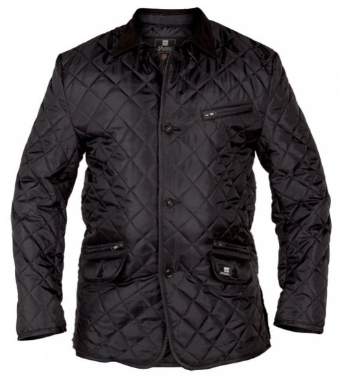 D555 Jay Quilted Jacket - Jakid - Joped, suured suurused: 2XL – 8XL