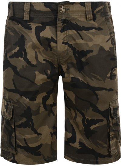 Kam Jeans Cargo Twill Camo Shorts - Lühikesed Püksid - Lühikesed Püksid suured suurused: W40-W60