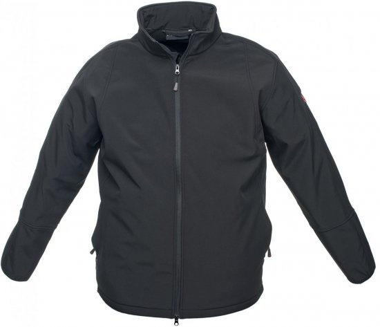 Marc & Mark Softshell-jakk Must - Jakid & Vihmariided - Joped, suured suurused: 2XL – 8XL