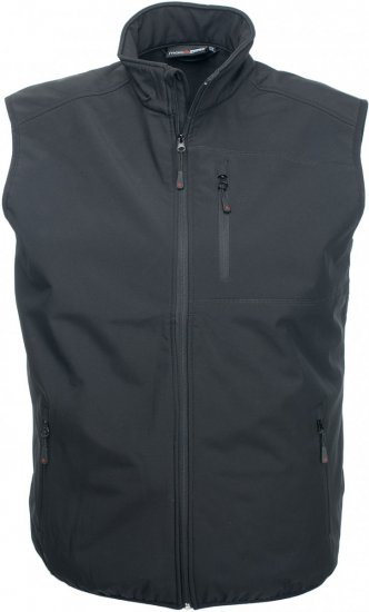 Marc & Mark Softshell-vest Must - Jakid & Vihmariided - Joped, suured suurused: 2XL – 8XL