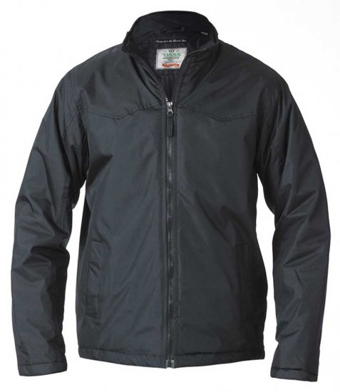 D555 Rayford Light Padded Jacket Black - Jakid - Joped, suured suurused: 2XL – 8XL