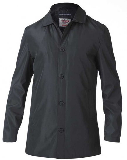 D555 Hampton Raincoat Black - Jakid - Joped, suured suurused: 2XL – 8XL