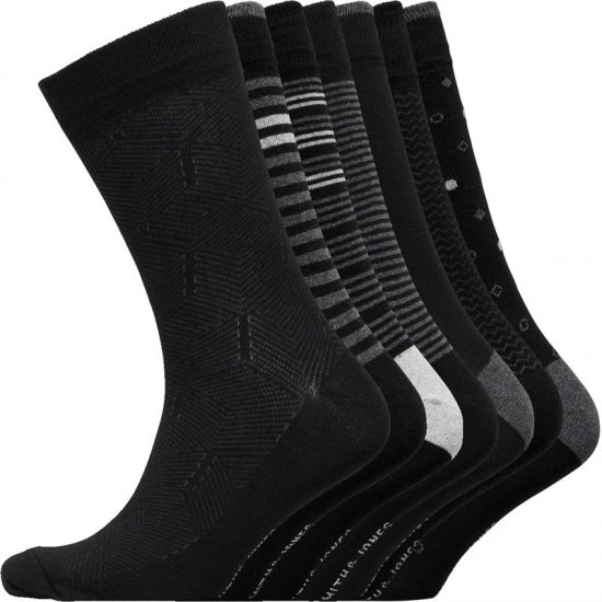 Smith & Jones Blacksmith 7-pack Socks - Aluspesu ja Ujumisriided - Aluspesu 2XL-8XL